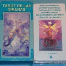 Barajas de cartas: BARAJA DE CARTAS DE TAROT DE LAS SIRENAS. LO SCARABEO. 78 NAIPES. BONITOS NAIPES.. Lote 35607837