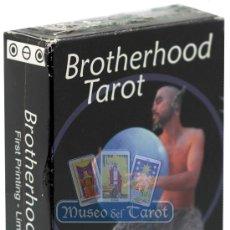 Barajas de cartas: BROTHERHOOD TAROT. Lote 35614422