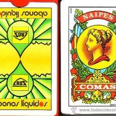Barajas de cartas: ABONOS LIQUIDOS CROS - BARAJA ESPAÑOLA 50 CARTAS. Lote 35632785