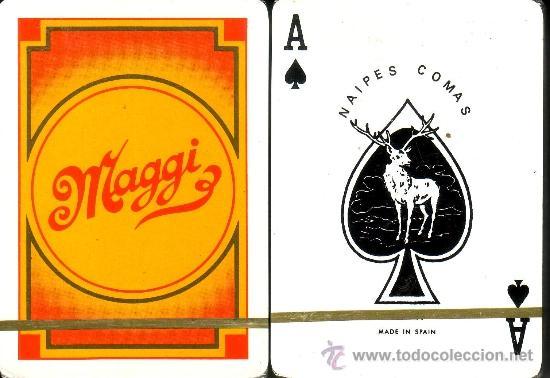MAGGI - BARAJA POKER (Juguetes y Juegos - Cartas y Naipes - Barajas de Póker)