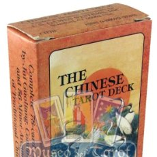 Barajas de cartas: THE CHINESE TAROT DECK. Lote 35667023