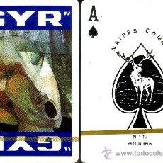 Barajas de cartas: GYR AZUL - BARAJA DE POKER. Lote 35673345