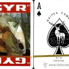 Barajas de cartas: GYR ROJA - BARAJA DE POKER. Lote 35673362