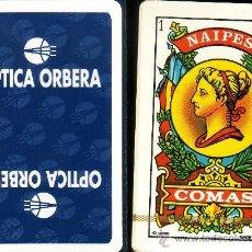 Barajas de cartas: OPTICA ORBERA - BARAJA ESPAÑOLA 40 CARTAS. Lote 35762902