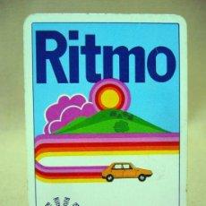 Barajas de cartas: BARAJA PUBLICITARIA, BARAJA DE CARTAS, RITMO SEAT, 40 CARTAS, COMPLETA. Lote 36273286