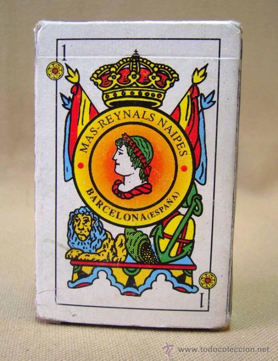 BARAJA , BARAJA DE CARTAS, MAS REYNALS, 50 CARTAS, COMPLETA, BARCELONA (Juguetes y Juegos - Cartas y Naipes - Baraja Española)