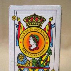 Barajas de cartas: BARAJA , BARAJA DE CARTAS, MAS REYNALS, 50 CARTAS, COMPLETA, BARCELONA. Lote 36273712