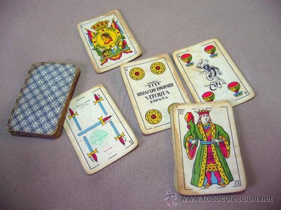 BARAJA , BARAJA DE CARTAS, 40 CARTAS, COMPLETA, FOURNIER, TITI (Juguetes y Juegos - Cartas y Naipes - Baraja Española)
