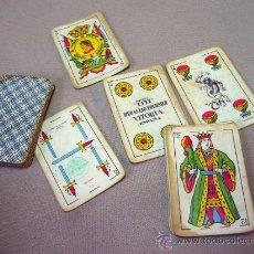 Barajas de cartas: BARAJA , BARAJA DE CARTAS, 40 CARTAS, COMPLETA, FOURNIER, TITI. Lote 36274325