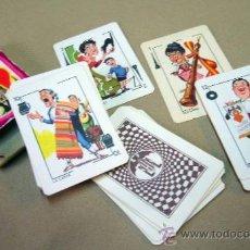 Barajas de cartas: BARAJA , BARAJA DE CARTAS, COMPLETA, FOURNIER, NAIPE LILIPUT. Lote 36274386
