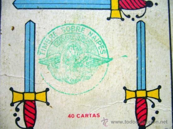 Barajas de cartas: BARAJA , BARAJA DE CARTAS, 40 CARTAS, COMPLETA, FOURNIER, TITI - Foto 4 - 36274325