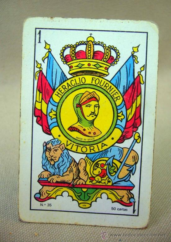 Barajas de cartas: BARAJA , BARAJA DE CARTAS, 50 CARTAS, COMPLETA, FOURNIER, Nº 35 - Foto 8 - 36274287