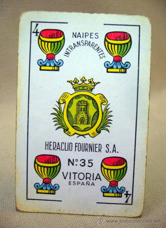 Barajas de cartas: BARAJA , BARAJA DE CARTAS, 50 CARTAS, COMPLETA, FOURNIER, Nº 35 - Foto 7 - 36274287