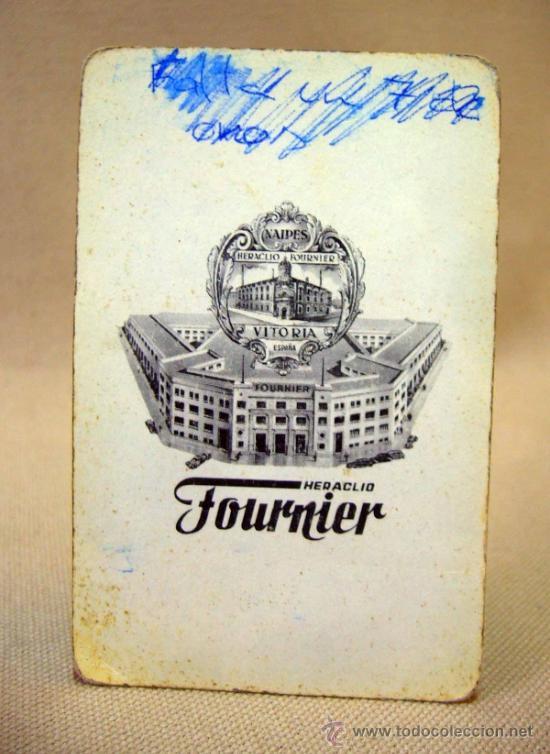 Barajas de cartas: BARAJA , BARAJA DE CARTAS, 50 CARTAS, COMPLETA, FOURNIER, Nº 35 - Foto 4 - 36274287