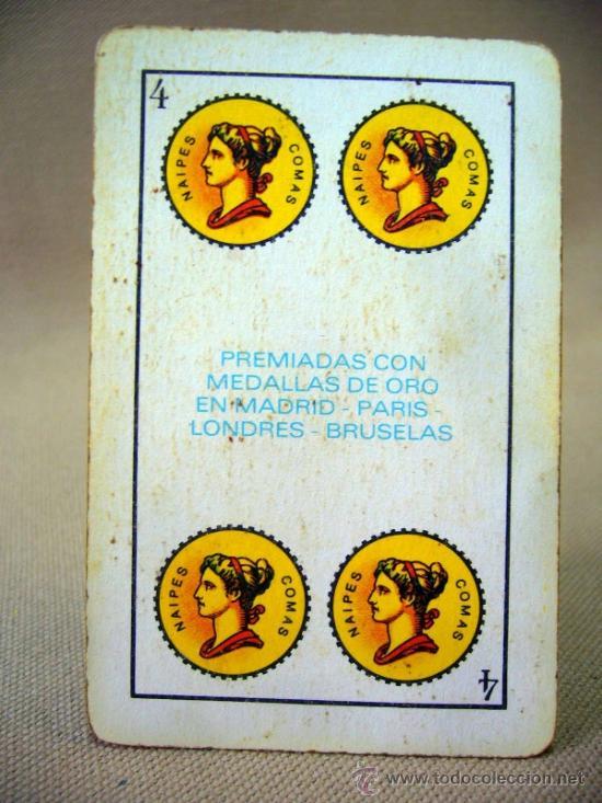 Barajas de cartas: BARAJA , BARAJA DE CARTAS, 40 CARTAS, COMPLETA, COMAS - Foto 6 - 36273929
