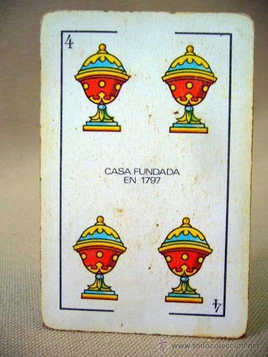 Barajas de cartas: BARAJA , BARAJA DE CARTAS, 40 CARTAS, COMPLETA, COMAS - Foto 5 - 36273929