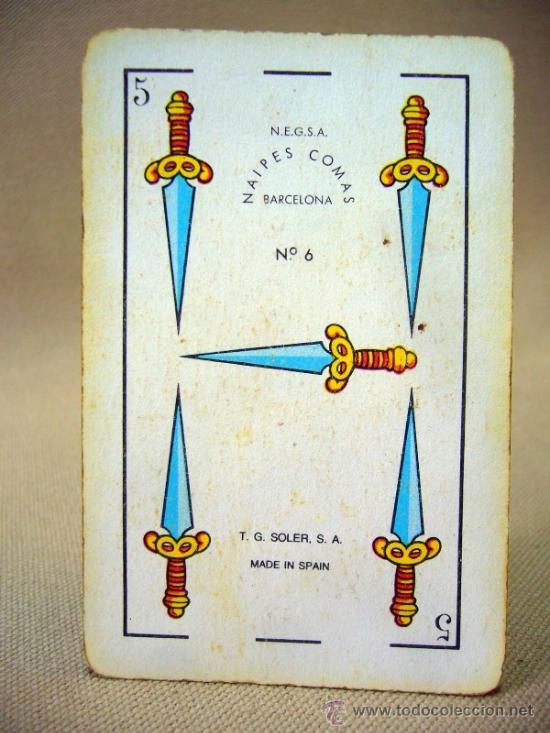 Barajas de cartas: BARAJA , BARAJA DE CARTAS, 40 CARTAS, COMPLETA, COMAS - Foto 4 - 36273929