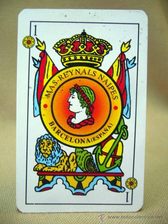 Barajas de cartas: BARAJA , BARAJA DE CARTAS, MAS REYNALS, 50 CARTAS, COMPLETA, BARCELONA - Foto 3 - 36273712