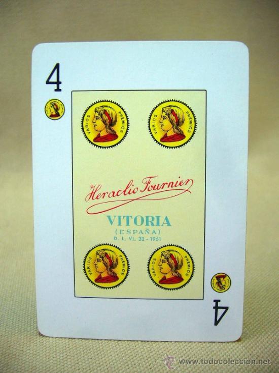 Barajas de cartas: BARAJA, BARAJA DE CARTAS, POKER ESPAÑOL, 54 CARTAS, COMPLETA, FOURNIER - Foto 4 - 36273438