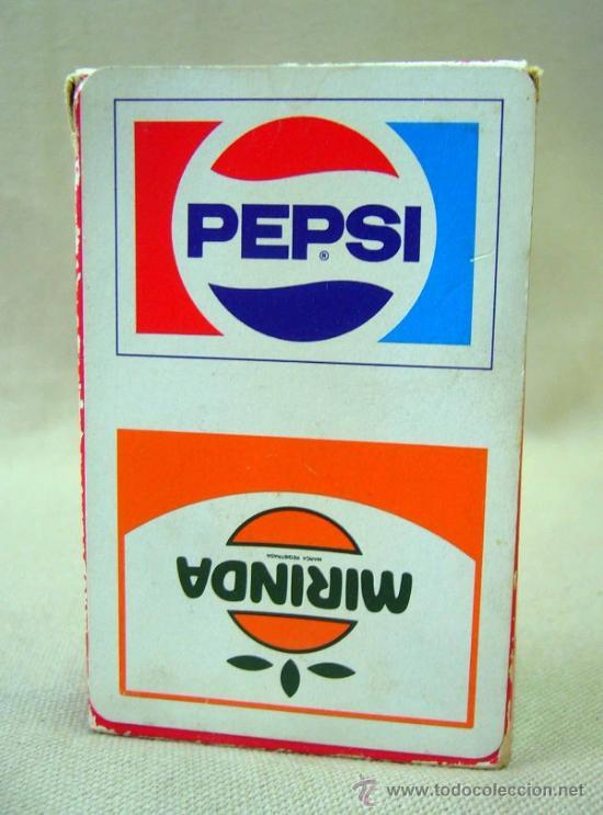 Barajas de cartas: BARAJA PUBLICITARIA, BARAJA DE CARTAS, PEPSI Y MIRINDA, 40 CARTAS, COMPLETA - Foto 9 - 36273345