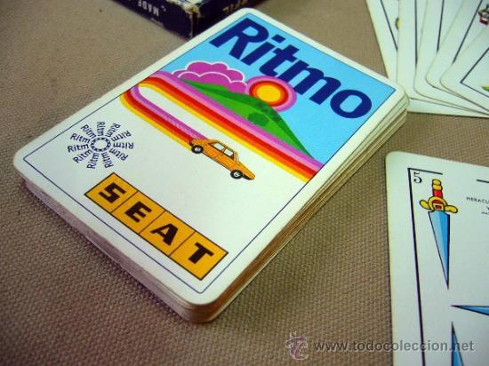 Barajas de cartas: BARAJA PUBLICITARIA, BARAJA DE CARTAS, RITMO SEAT, 40 CARTAS, COMPLETA - Foto 6 - 36273286