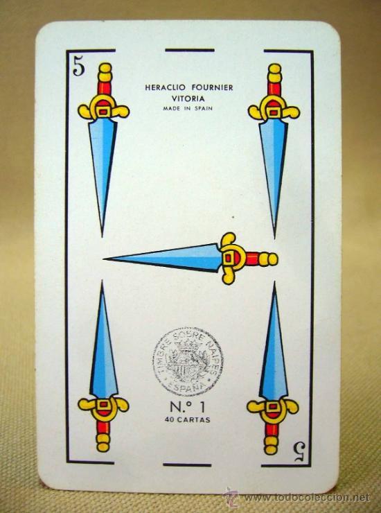 Barajas de cartas: BARAJA PUBLICITARIA, BARAJA DE CARTAS, RITMO SEAT, 40 CARTAS, COMPLETA - Foto 3 - 36273286