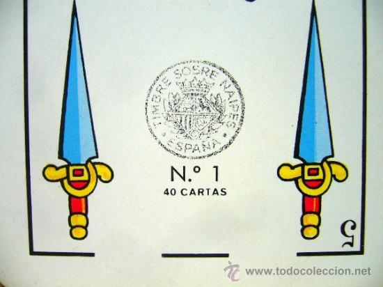 Barajas de cartas: BARAJA PUBLICITARIA, BARAJA DE CARTAS, RITMO SEAT, 40 CARTAS, COMPLETA - Foto 2 - 36273286