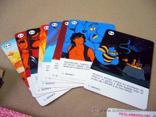 Barajas de cartas: BARAJA INFANTIL, FOURNIER, ALADDIN, ALADINO, CON INSTRUCCIONES, COMPLETA - Foto 9 - 35792350