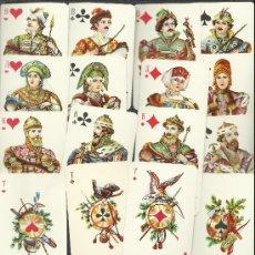 Barajas de cartas: OCASION BONITA BARAJA DE CARTAS RUSA 36 CARTAS USADA . Lote 35785462
