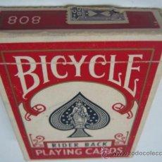 Barajas de cartas: ANTIGUA BARAJA AMERICANA CARTAS POKER - BICYCLE 808. Lote 78105806