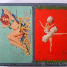 Barajas de cartas: ESTUCHE 2 BARAJAS DE CARTAS POKER. Lote 35845377