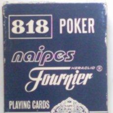 Barajas de cartas: BARAJA DE CARTAS POKER 818 , HERACLIO FOURNIER, . Lote 35845662