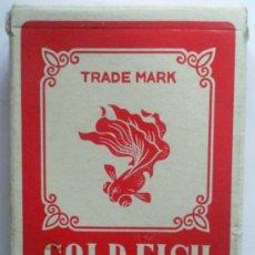 Barajas de cartas: BARAJA DE CARTAS POKER GOLD-FISH, PLAYNG CARS, . Lote 35845814