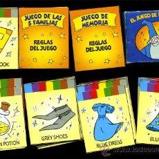 Barajas de cartas: - MINI BARAJA DE CARTAS EL JUEGO DE LAS FAMILIAS 35 NAIPES CON INSTRUCCIONES PARA 2 JU. Lote 35903296