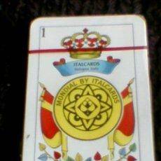 Barajas de cartas - Baraja italiana trasera publicidad cervezas cerveza El Aguila precintada - 35903373