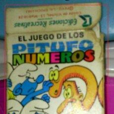 Barajas de cartas: BARAJA DE CARTAS DE LOS PITUFOS - EDICIONES RECREATIVAS 1983. Lote 43504571