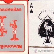 Barajas de cartas: MASONEILAN - BARAJA DE POKER. Lote 35921722