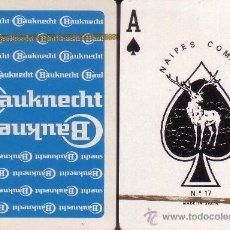 Barajas de cartas: BAUKNECHT AZUL - BARAJA DE POKER. Lote 35921771
