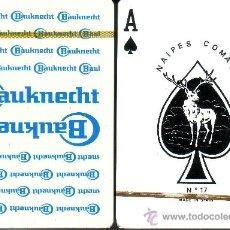 Barajas de cartas: BAUKNECHT BLANCA - BARAJA DE POKER. Lote 35921780