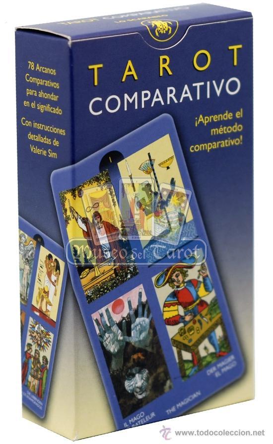 TAROT COMPARATIVO (Juguetes y Juegos - Cartas y Naipes - Barajas Tarot)