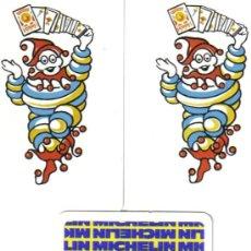 Barajas de cartas: BARAJA PUBLICITARIA CUBIERTAS MICHELIN-FOURNIER-AÑOS 90. Lote 35967727