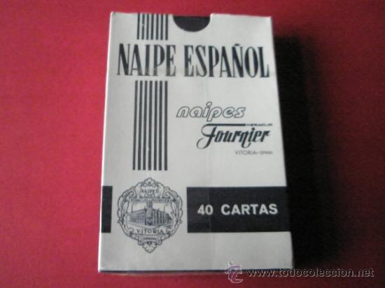 (C)-BARAJA/CARTAS/NAIPES-HERACLIO FOURNIER-PUBLICIDAD PACHARÄN ZOCO-PRECINTADA. (Juguetes y Juegos - Cartas y Naipes - Baraja Española)