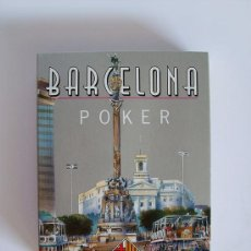 "Barajas de cartas: BARAJA DE POKER ""BARCELONA"" – NAIPES COMAS. Lote 36029924"