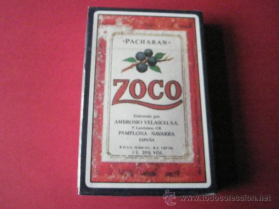Barajas de cartas: (C)-BARAJA/CARTAS/NAIPES-HERACLIO FOURNIER-PUBLICIDAD PACHARÄN ZOCO-PRECINTADA. - Foto 4 - 35969260