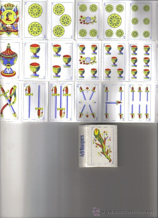 BARAJA ESPAÑOLA ANONIMA TROQUELADA-AÑOS 60 (Juguetes y Juegos - Cartas y Naipes - Baraja Española)