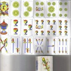Barajas de cartas: BARAJA ESPAÑOLA ANONIMA TROQUELADA-AÑOS 60. Lote 35987358