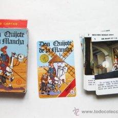 Barajas de cartas: BARAJA FOURNIER - DON QUIJOTE DE LA MANCHA - 1978. Lote 36043493
