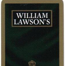Barajas de cartas: BARAJA ESPAÑOLA PUBLICITARIA WHISKY WILLIAM LAWSONS-FOURNIER-AÑOS 80. Lote 36097489