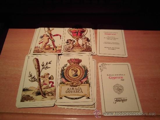 Barajas de cartas: BARAJA GOYESCA 1815 REPLICA DISEÑO CLEMENTE DE ROJAS FOURNIER - Foto 2 - 98174110