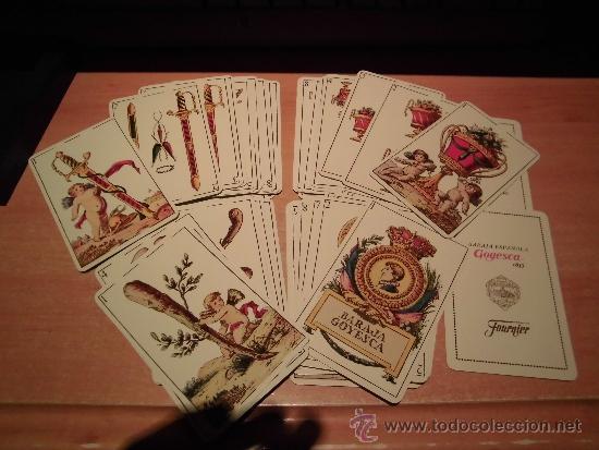 Barajas de cartas: BARAJA GOYESCA 1815 REPLICA DISEÑO CLEMENTE DE ROJAS FOURNIER - Foto 3 - 98174110